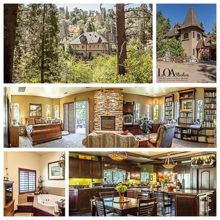 This is an incredible custom home nestled in the woods of Lake Arrowhead. This…