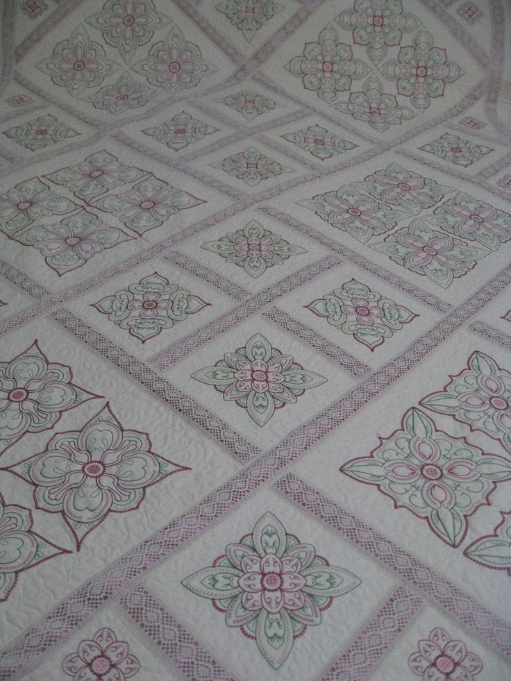 Candlewick Quilt Close up of Candlewick Quilt Candlewick quilt on the bed Candlewick Quilt Corner I have spent the d...