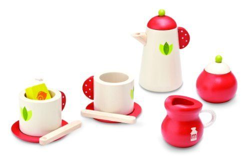 Tea Break Set by Smart Gear. $19.63. For ages 36 months and up. easy to use and play with others. makes a great gift. From the Manufacturer                Children can enjoy pretend play with unique design tea set. Role play helps to promote creativity, emotion-thought awareness                                    Product Description                Tea Break Set. Save 27%!