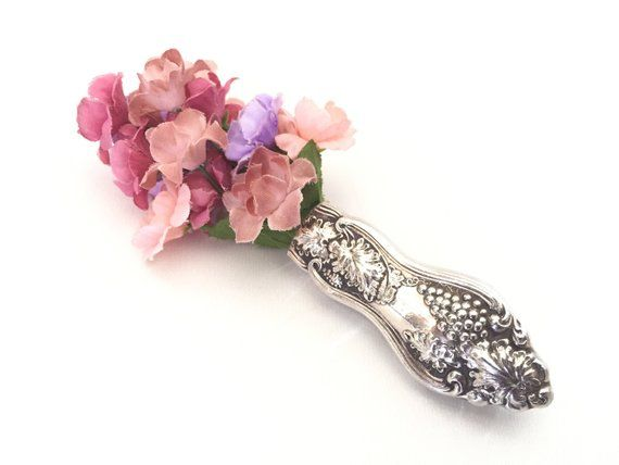 Silver Brooch – Silver Cutlery Jewelry – Silver Flatware Jewellery – Vintage Brooches – Silver Knife