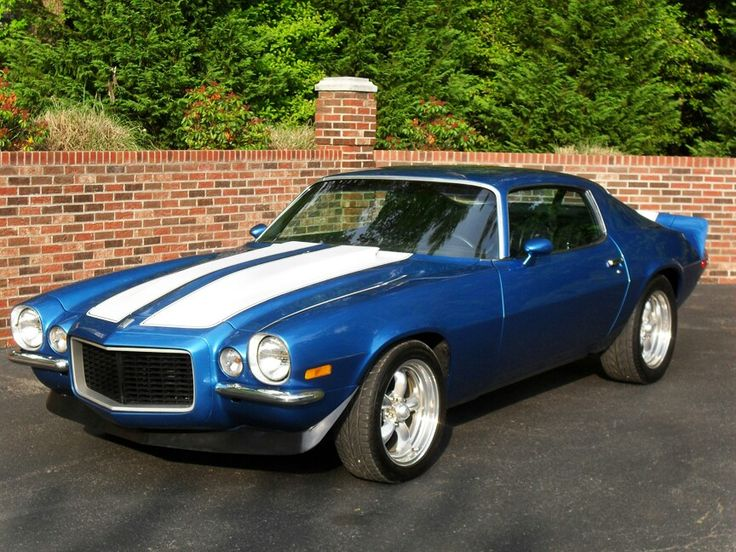 1970 1/2 Camaro SS/RS Mine was Greenblue metallic with white vinyl roof