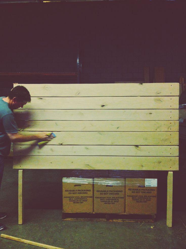 DIY Headboard |