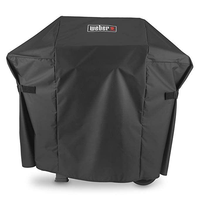 Amazon Com Weber 7138 Premium Cover Spirit Ii 200 Grill Accessory Garden Outdoor Grill Cover Grill Accessories Gas Grill Covers