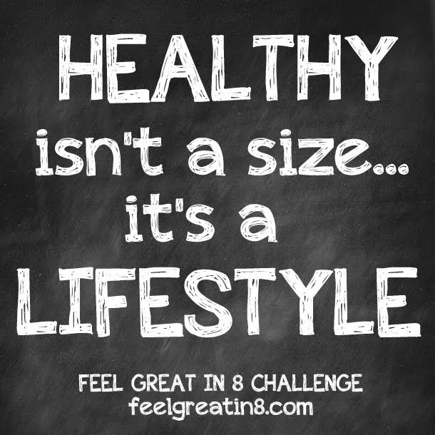 8 Ways to Focus on Healthy, Not Skinny - Feel Great in 8 Blog