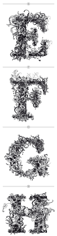 BRUSHWOOD by Riccardo Sabatini, via Behance Inchiostro su carta. E' un lavoro fantastico e molto complesso, mi piace come l'artista ha realizzato il tutto con l'uso dell'inchiostro.
