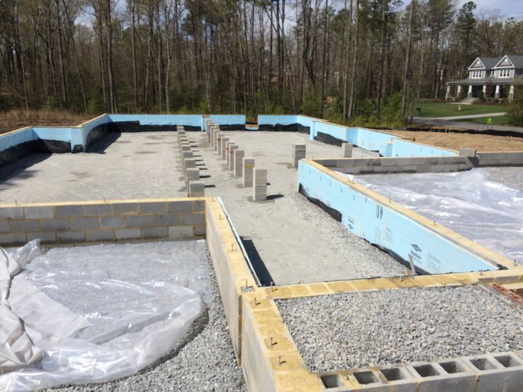 7 best conditioned crawl space on a slab images on for How to build a crawl space foundation for a house