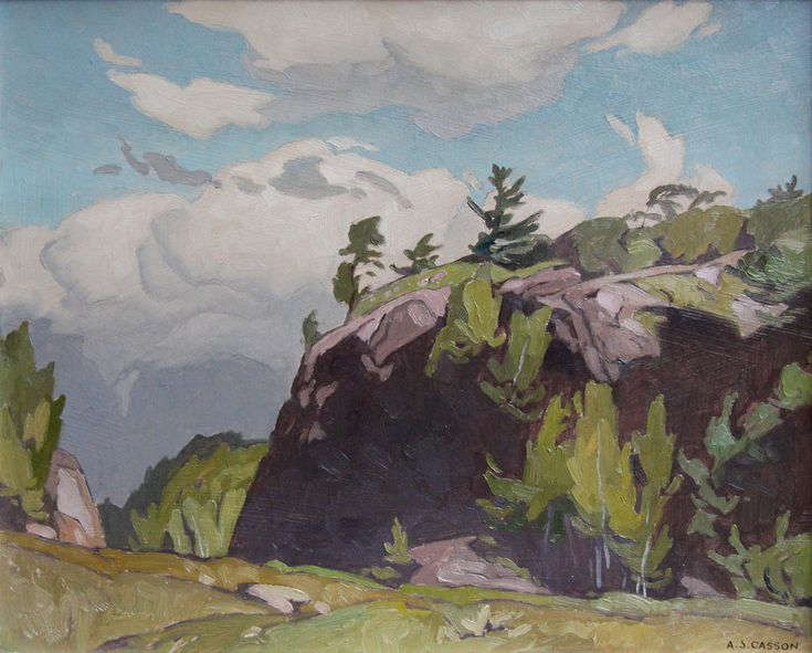 Alfred Joseph Casson, 'Point au Baril' at Mayberry Fine Art