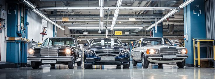 At the Mercedes-Benz plant Sindelfingen (Germany) series production of the new E-Class has begun.
