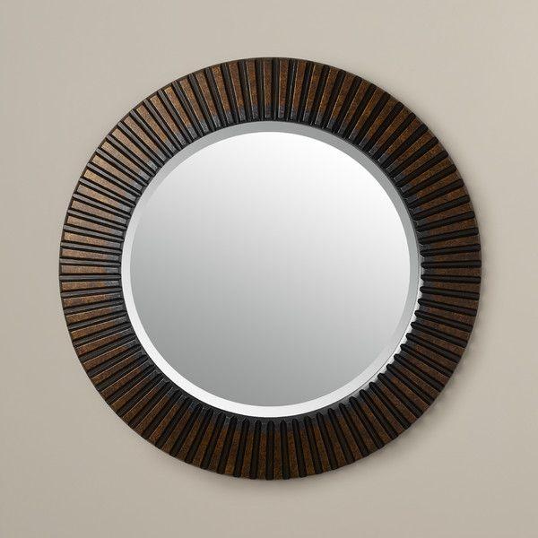 Bungalow Rose Norwood Round Oversized Wall Mirror
