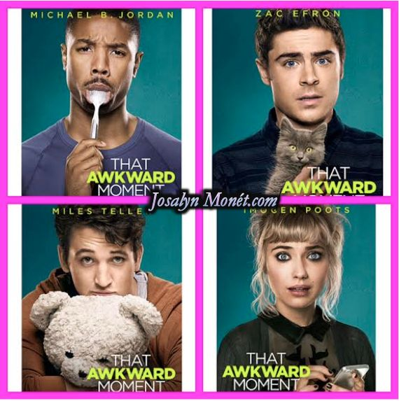 Michael B. Jordan, Zac Efron, & Miles Teller Are Hilarious In 'That Awkward Moment' Character Movie Posters!