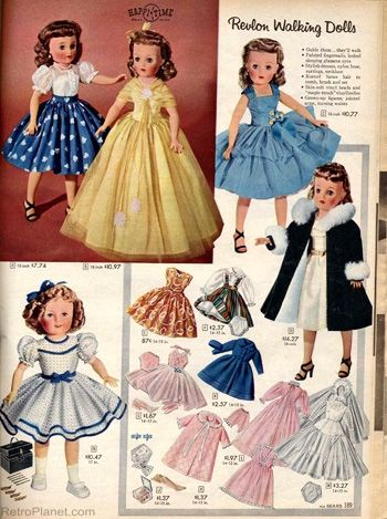 Vintage doll clothes patterns
