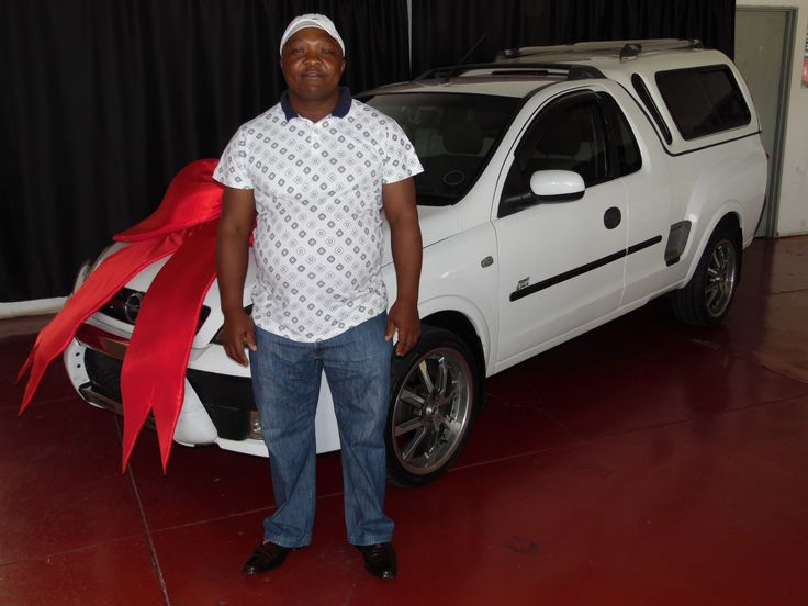 Mr TS Mokoena taking ownership of His Opel Corsa Utility!  🚗 #WeGetYouMoving #AnotherSuccessfulDelivery #SatisfiedClients #FinanceAvailable #ThroughAllMajorBanks #TheMotorManWay #TheMotormanEffect #motorman #cars #nigel #Opel #Corsa #utility #bakkie For the best deals call us now at:  011 814 1729 Whatsapp us now at: 083 440 9121  Or Email us on: leads@motorman.co.za We only post pictures with permission of the client #permissiongranted Proudly brought to you by MotorMan! 🚗