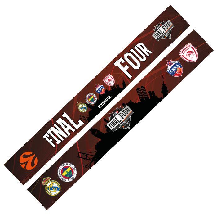 Euroleague F4 ISTANBUL 2017 SCARF