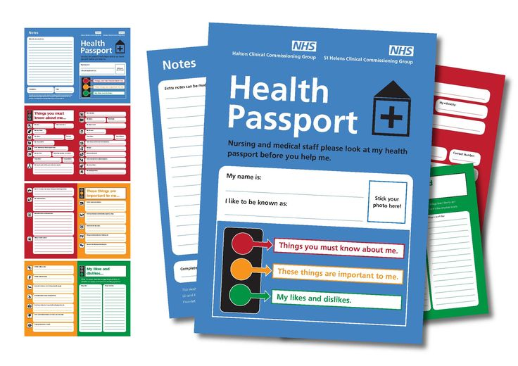 The Health Passport's aim is to help healthcare professionals understand you and make reasonable adjustments to the care and support they pr...