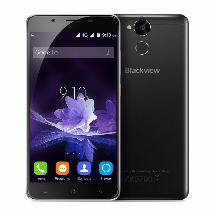 "New Blackview P2 4G+64G MT6750T P2 Lite 3G+32GB MTK6753 Smartphone Android 6.0 Cell Phone Octa Core 5.5""FHD 13MP+8MP Touch ID"