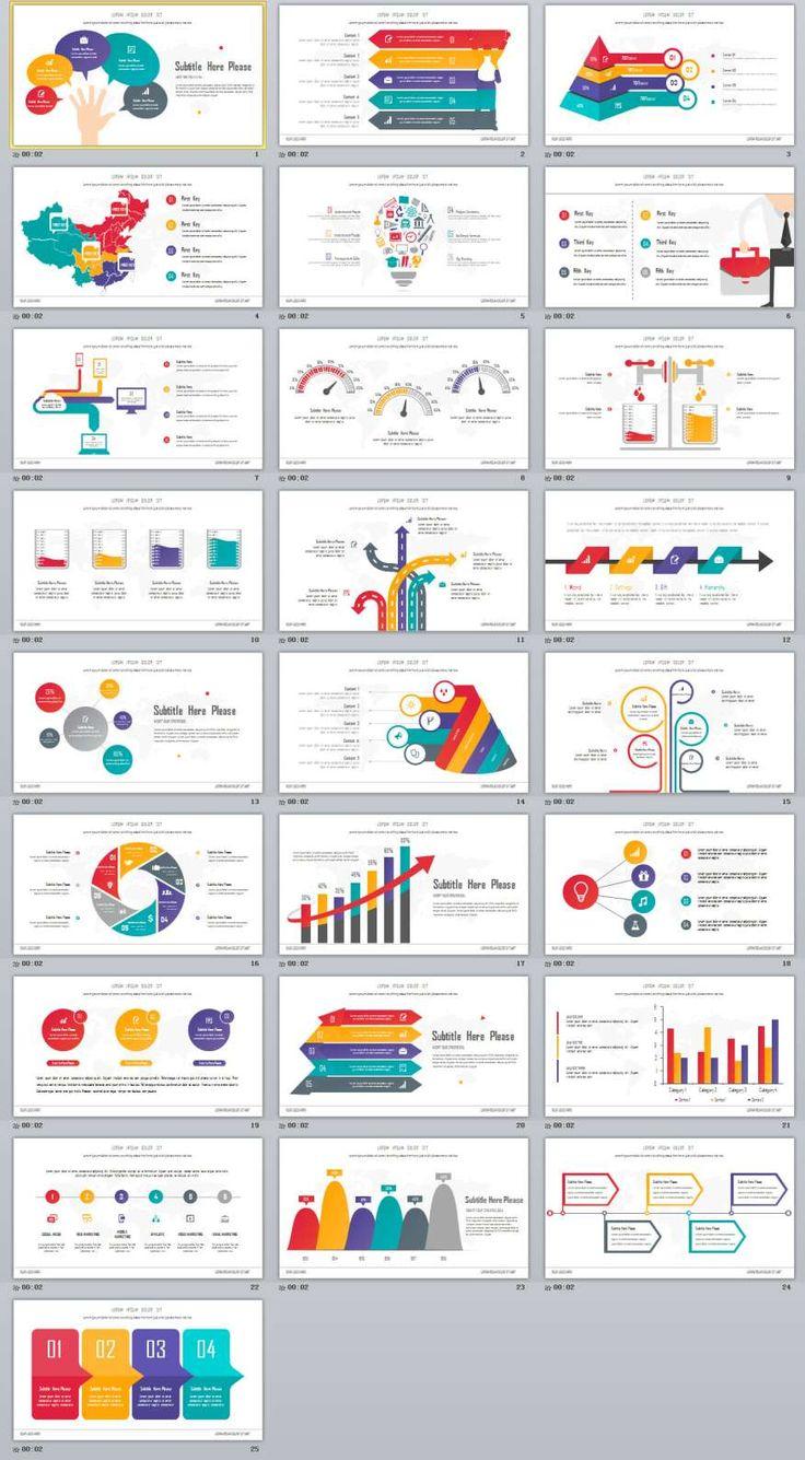 30 best 2018 infographic powerpoint templates images on pinterest 25 best slide infographic powerpoint templates toneelgroepblik Gallery