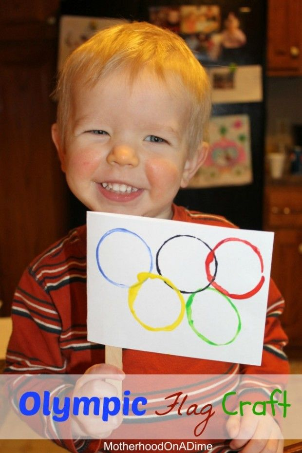 Olympic Flag Craft for Kids                                                                                                                                                      More