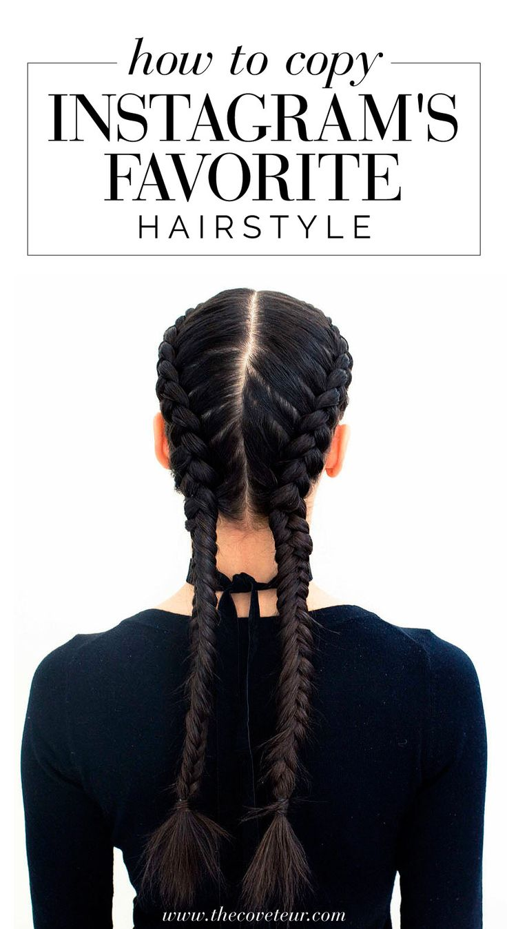 Click to learn how to get boxer braids & double dutch braids at home.