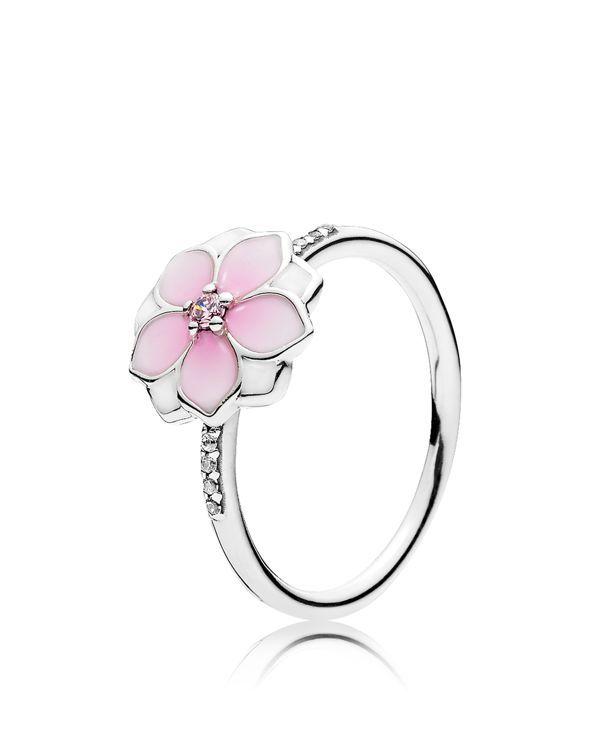 Pandora Ring - Sterling Silver Magnolia Bloom