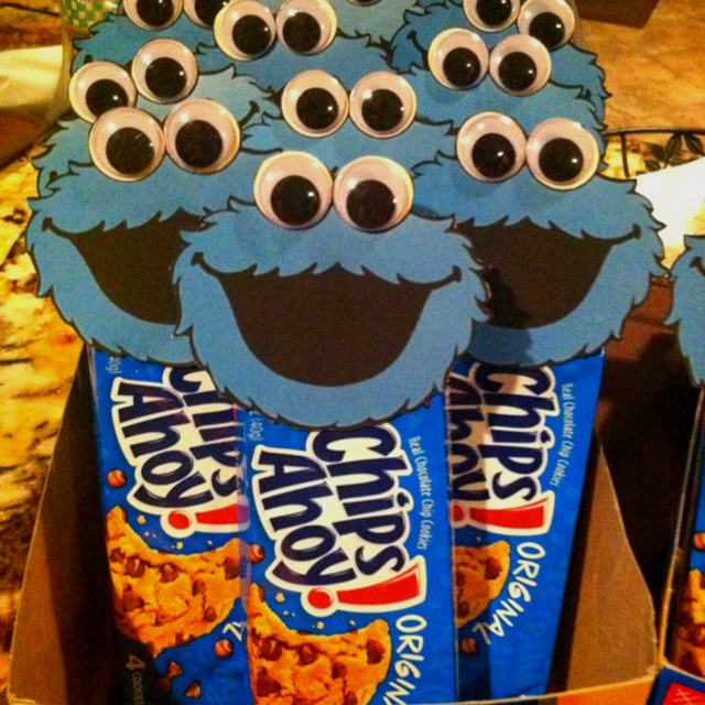 cookie monster Party Ideas : cookie monster paper plates - pezcame.com