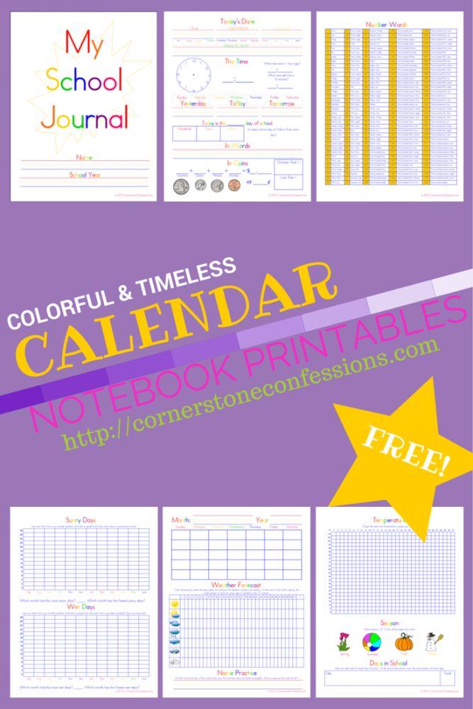 Calendar Binder Printables : Best calendar notebook ideas on pinterest wow