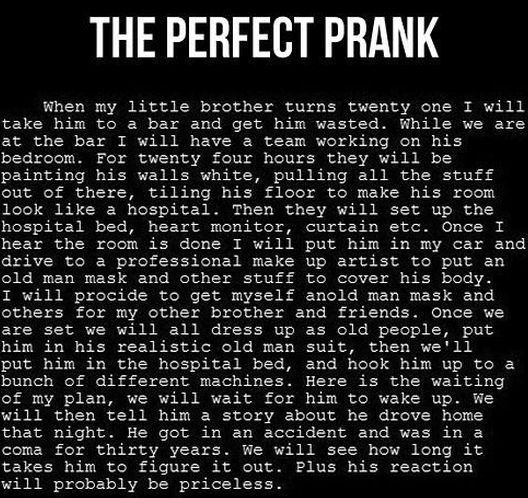 Best prank EVER!!...I may have pinned this already, but this is so awesome I'm gonna repin it again.