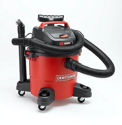 Wet Dry Vacuum Blower Cleaner Home Yard Shop Patio Power Motor 6 Gallon Peak 3HP