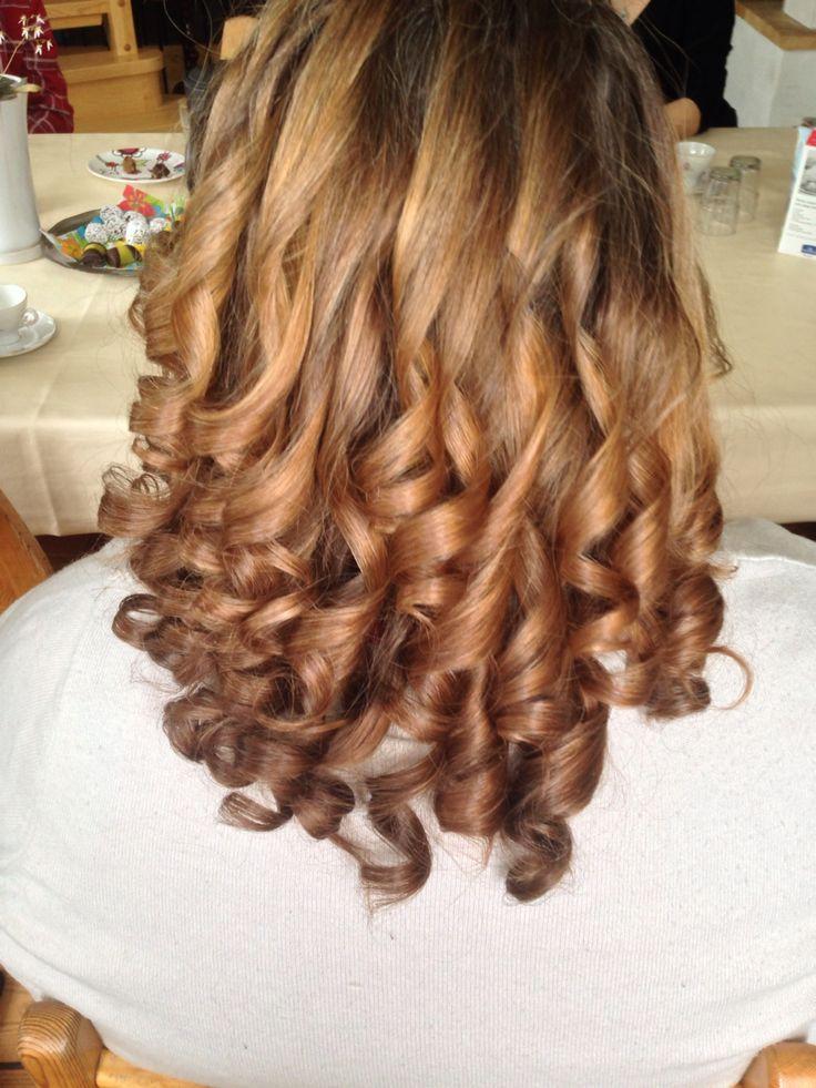 Ebba systerdottern har fixat dagens frisyr