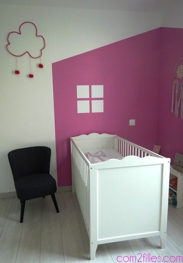 Peinture id e d co pour chambre d 39 enfant see more ideas about decoration and roses for Idee deco chambre d enfant