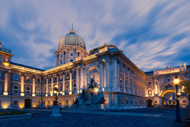 Buda Castle #Budapest #Hungary #travel #Europe #castle #palace