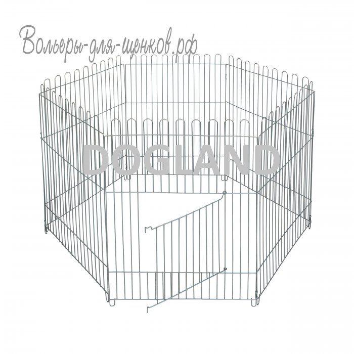 Вольер для собак, оцинкованный (95 см) - клетки, вольер для щенков, йорк, лежак, манеж для щенков, собак