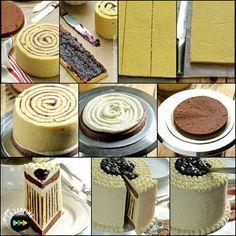 Cómo hacer pastel de rayas. Para un molde de 20 cm Como hacer pastel de rayas Ingredientes: 3 huevos 130 g de azúcar 100 g de harina 30 g de cacao en polvo