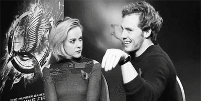 Sam Claflin & Jena Malone | Can you two please stop. Omg