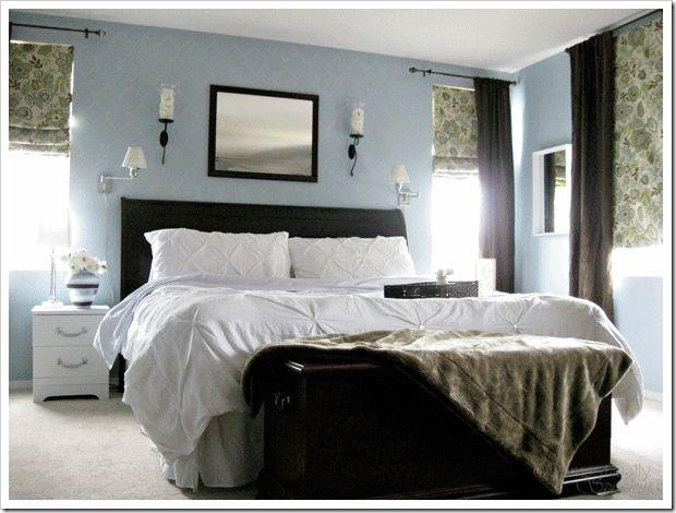serenata, benjamin moore: Romans Shades, Wall Color, Decoration Idea, Master Bedrooms, Bedrooms Idea, Paintings Color, Benjamin Moore, Windows Treatments, Bedrooms Color