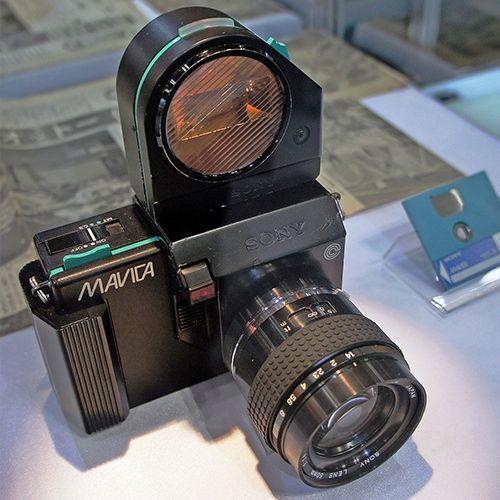 1981: Sony Mavica Digital Camera