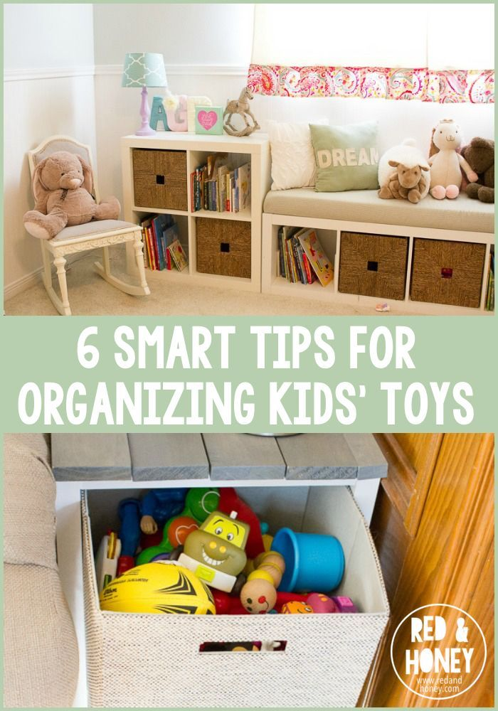 6 Smart Tips for Organizing Kidsu0027 Toys