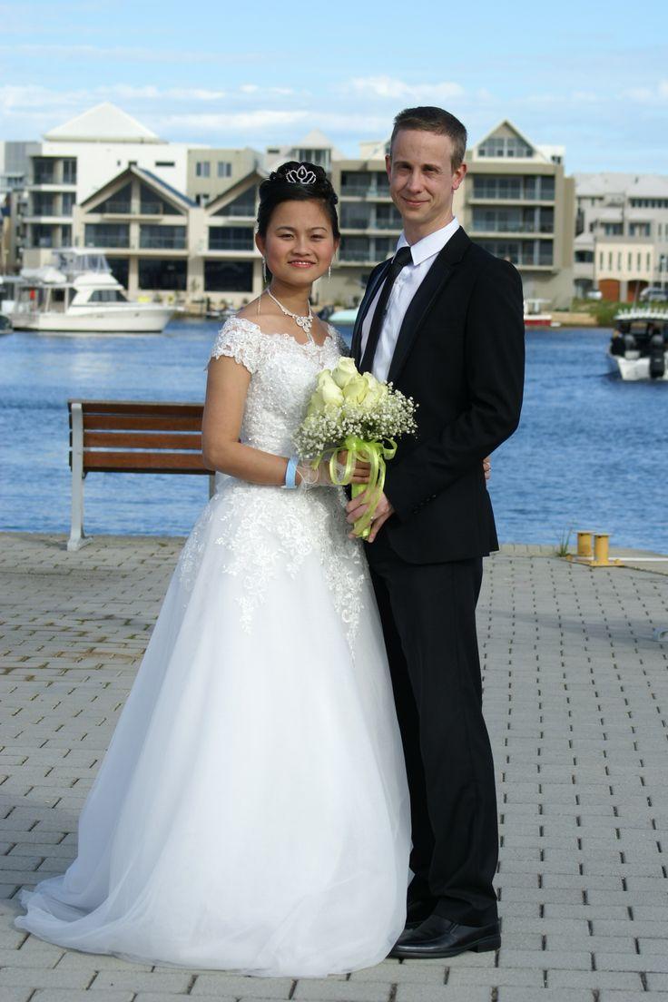 Mandurah Wedding Venue with Marina Views #wedding #mandurah #mofsc #events #venue #photos #bride #groom www.mofscevents.com.au