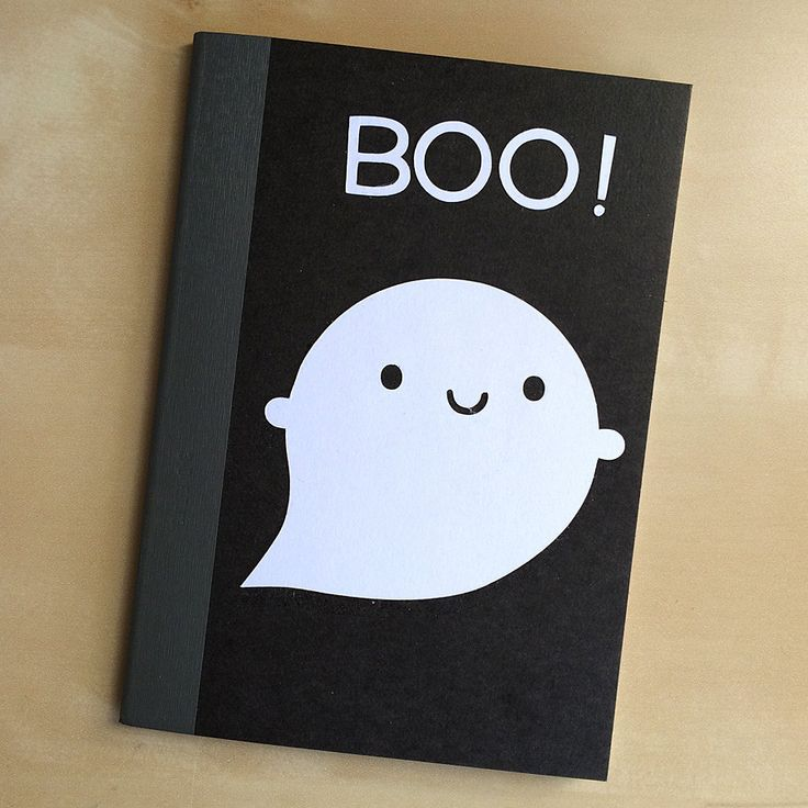 SAMPLE SALE - Little Ghost Papercut Notebook