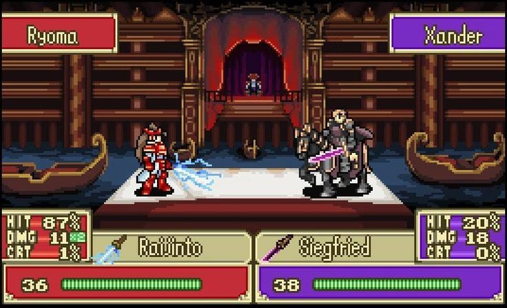 If someone made a rom hack of Fates in an old fire emblem I'd play it