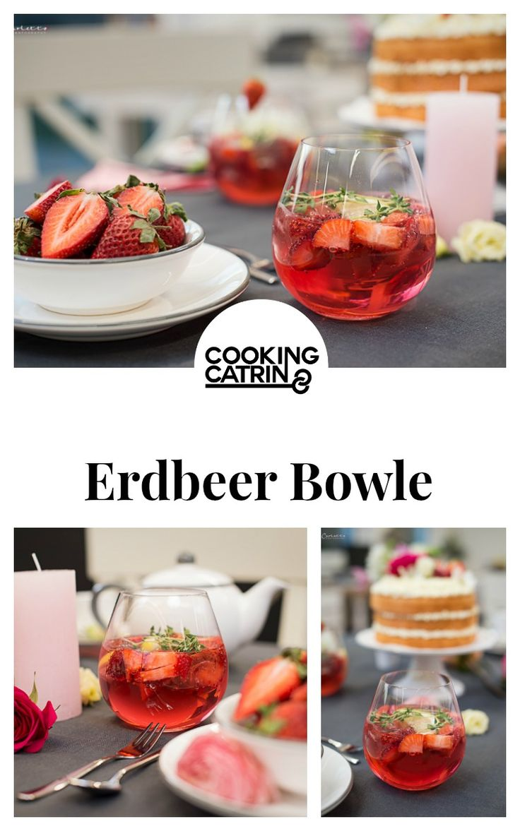 erdbeer bowle, bowle, bowle rezept, prosecco bowle, rotkäppchen fruchtsecco, beeren bowle, muttertags drink, muttertags getränk, muttertags bowle...http://www.cookingcatrin.at/mama-ueberraschen-rotkaeppchen-fruchtsecco/