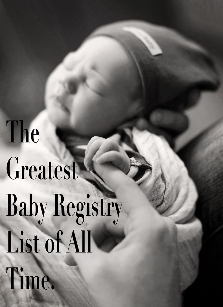 This is the only baby registry list you'll ever need. It gives a breakdown of all the best baby stuff and why you need which things.