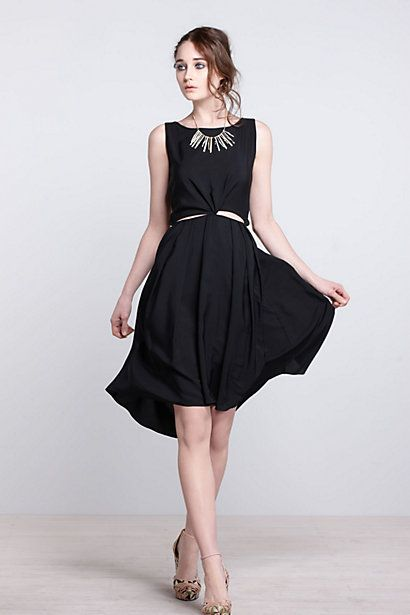 Oracle Tieback Dress / Anthropologie anthropologie