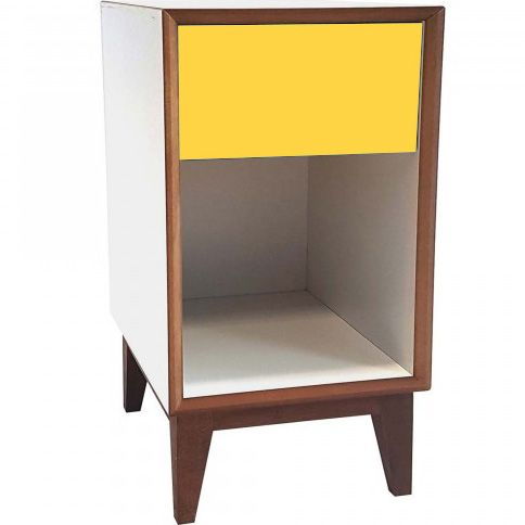 Pix White Bedside Table Large • WOO Design