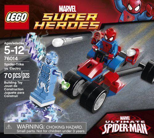 LEGO Superheroes Spider-Trike vs Electro (70pcs) Figures Building Block Toys @ niftywarehouse.com #NiftyWarehouse #Spiderman #Marvel #ComicBooks #TheAvengers #Avengers #Comics