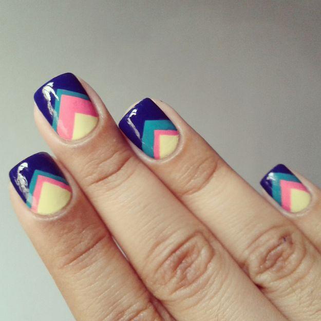 Интересный французский маникюр с рисунком ::: onelady.ru ::: #nail #nails…