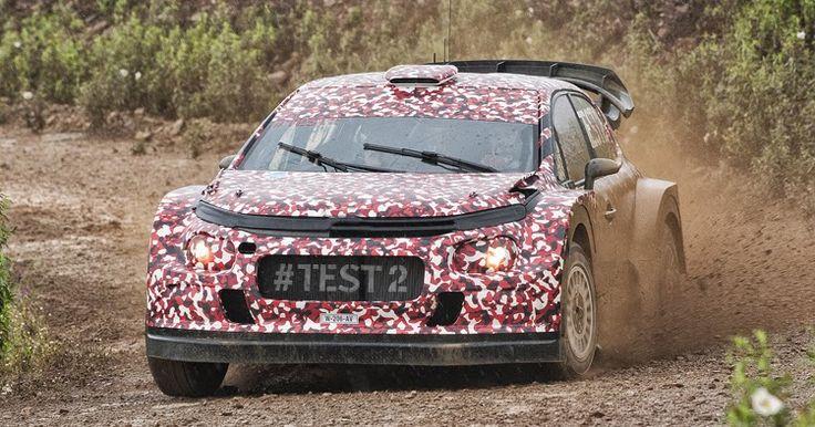 Citroen Puts Next-Gen C3 WRC To The Test [w/Video] #Citroen #Citroen_C3