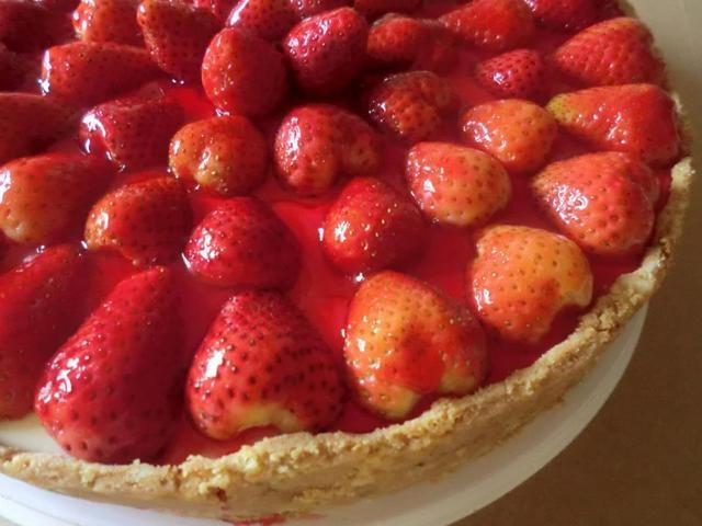 Cheesecake dietético. #dulces #postres #cheesecake