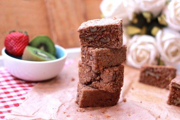 Brownie de canela - fithappysisters