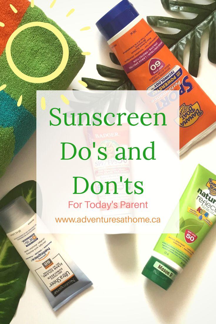 Sunscreen do's and don'ts | sunscreen| sun safety | Sunblock