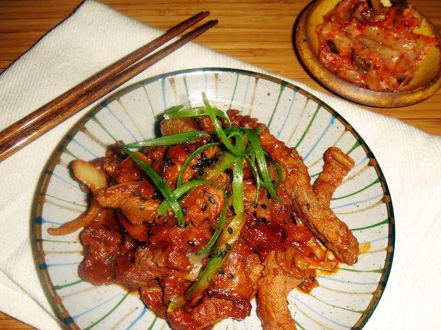 Spicy Bulgogi Marinade | Food! | Bulgogi, Bulgogi marinade ...